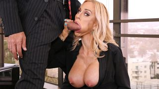 [HandsOnHardcore] Sarah Jessie (Nailed By Boss Big Cock)